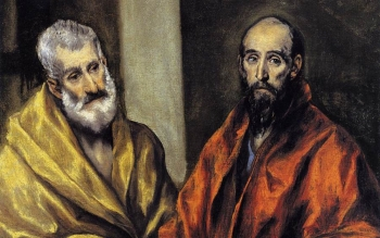 El Greco Saints Peter Paul123